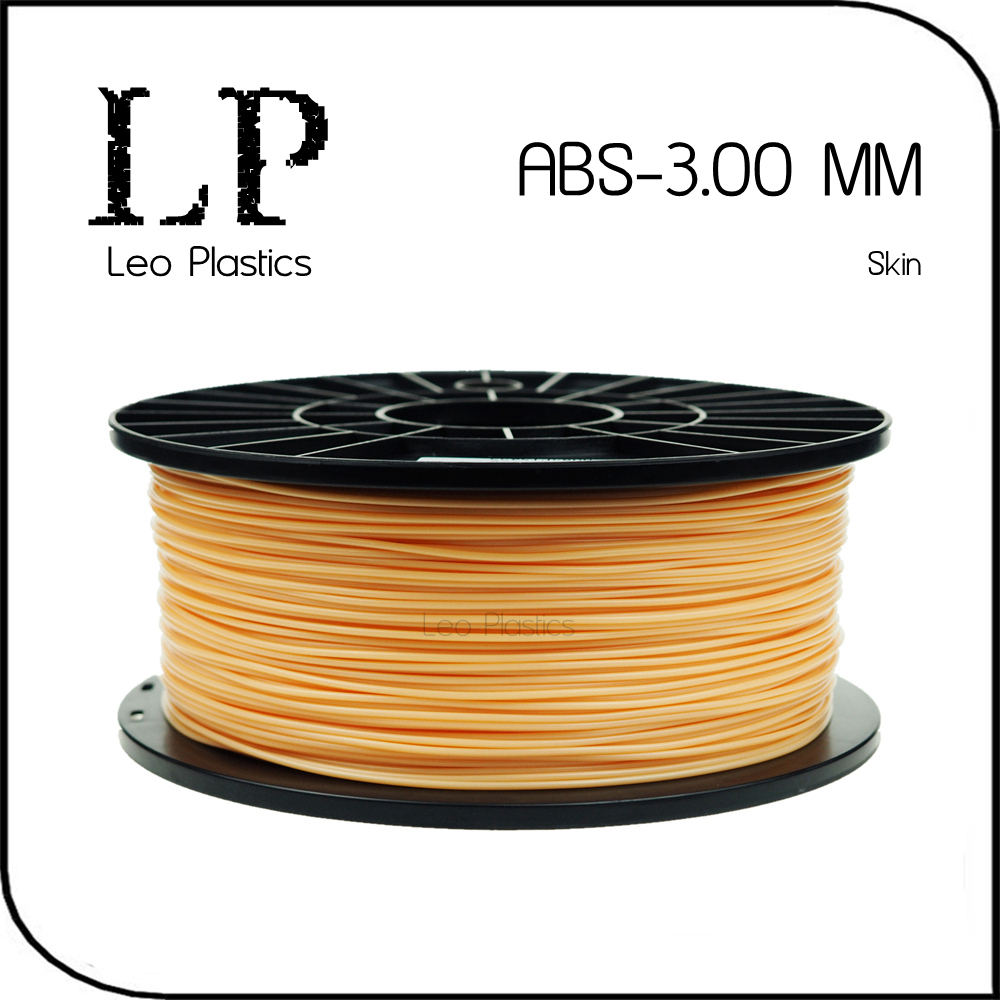 Worldwide Fast Cheap Delivery Within 7 Days Direct Manufacturer 3D Printer Material 1 kg 2.2 lb 3mm Skin ABS Filament(China (Mainland))