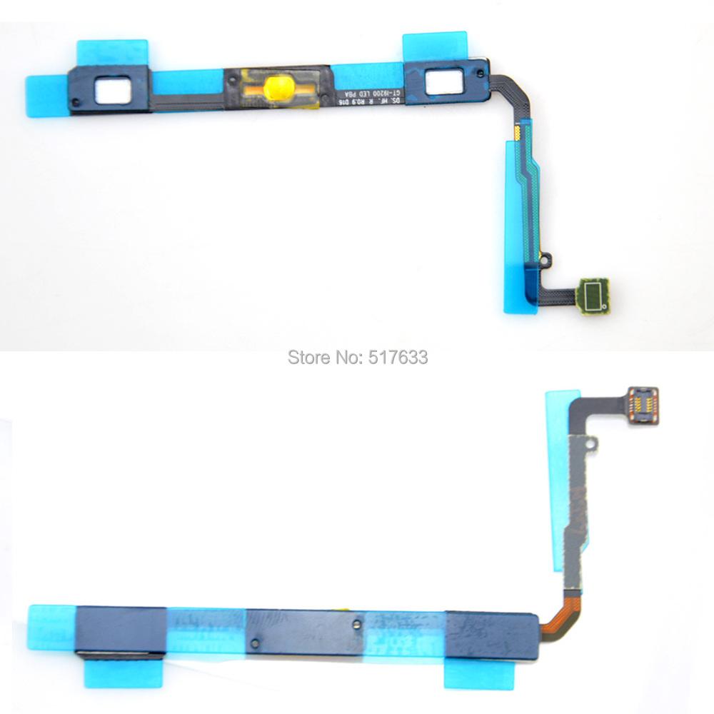 For Samsung Galaxy Mega 6.3 i9200 i527 i9205 New Proximity Light Sensor Signal Home Button Flex Cable,free shipping+track code(China (Mainland))