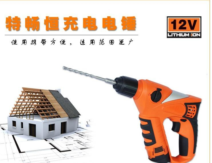 TCH Dayspring constant 12V lithium rechargeable impact hammer drill(China (Mainland))