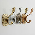 Newly Bathroom Accessories Classic Antique Style Colorful Single Robe Hat Coat Hanger Hook Door Wall Bath