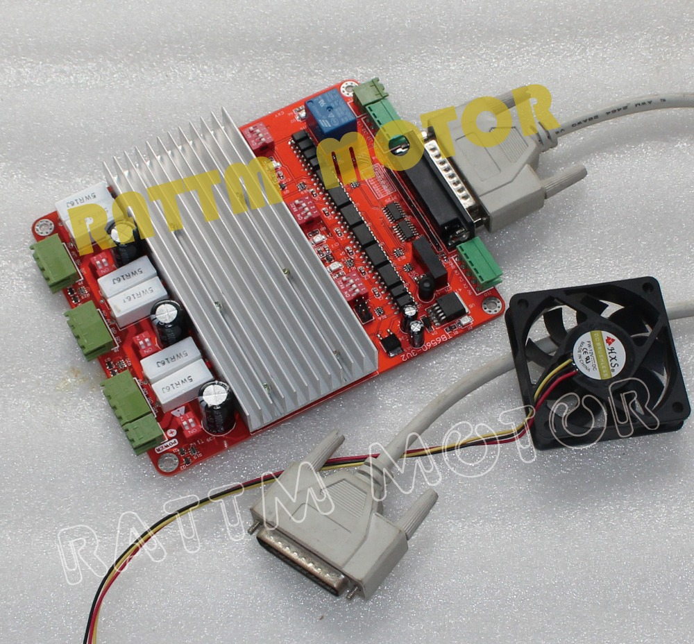 High speed optocoupler 3 axis cnc controller tb6560 for High speed stepper motor