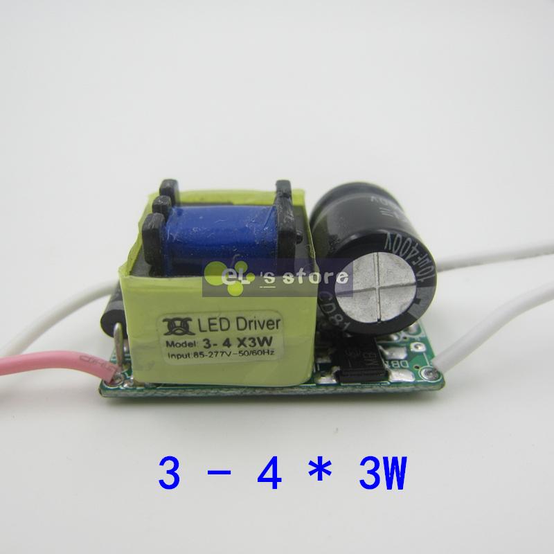 20pcs/lot 3X3W led driver, 3*3W driver, 9W lamp driver, 85-265V input for E27 GU10 E14 LED lamp(China (Mainland))