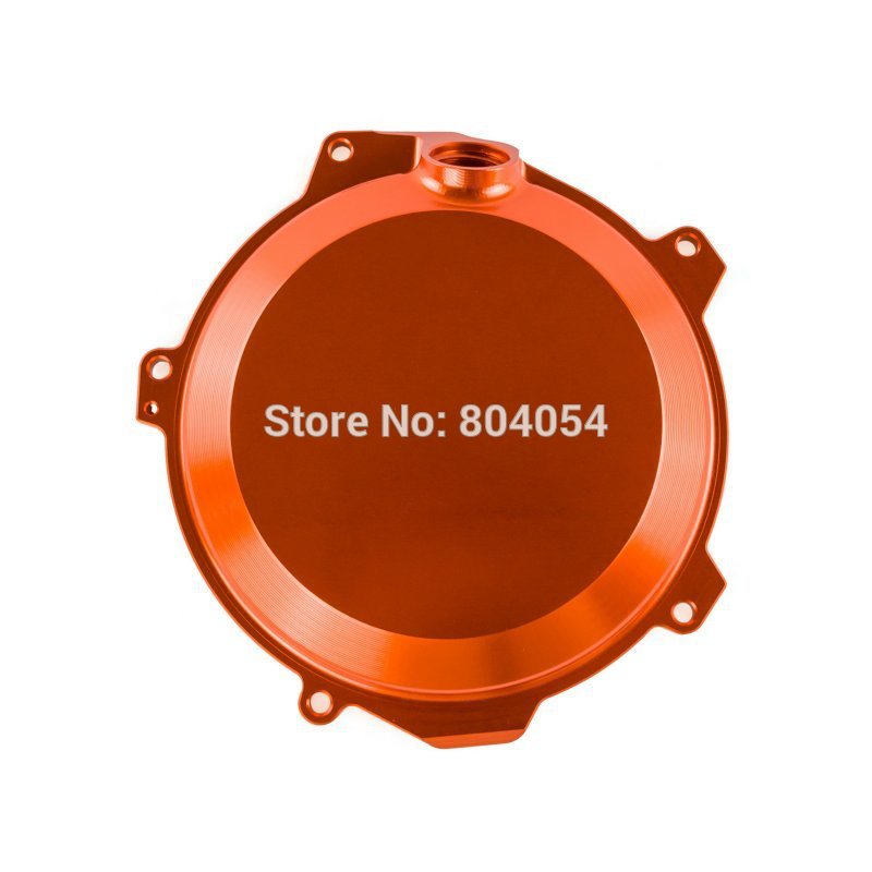 Orange Billet Engine Outside Clutch Cover For KTM Freeride 350 2012 2013 2014 2015