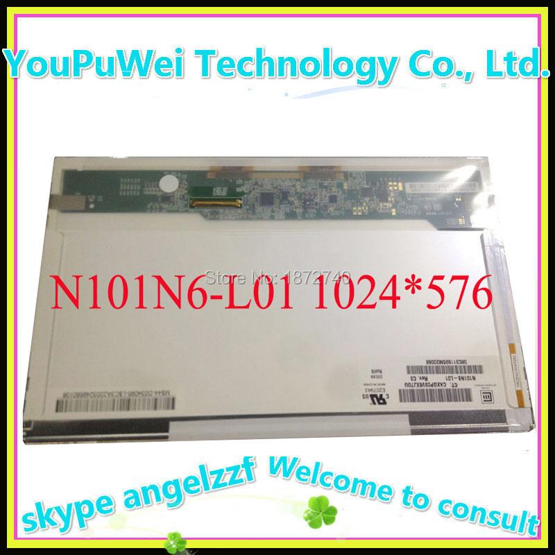 FOR HP mini 110 notebook replacement dispay N101N6-L01 LCD matrix screen 1024*576 40pin(China (Mainland))