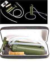 Легкий портативный пластиковый керамическая солдат фильтр для воды очиститель очиститель 0.1 микро для открытый выживания туризм охота отдых на природе