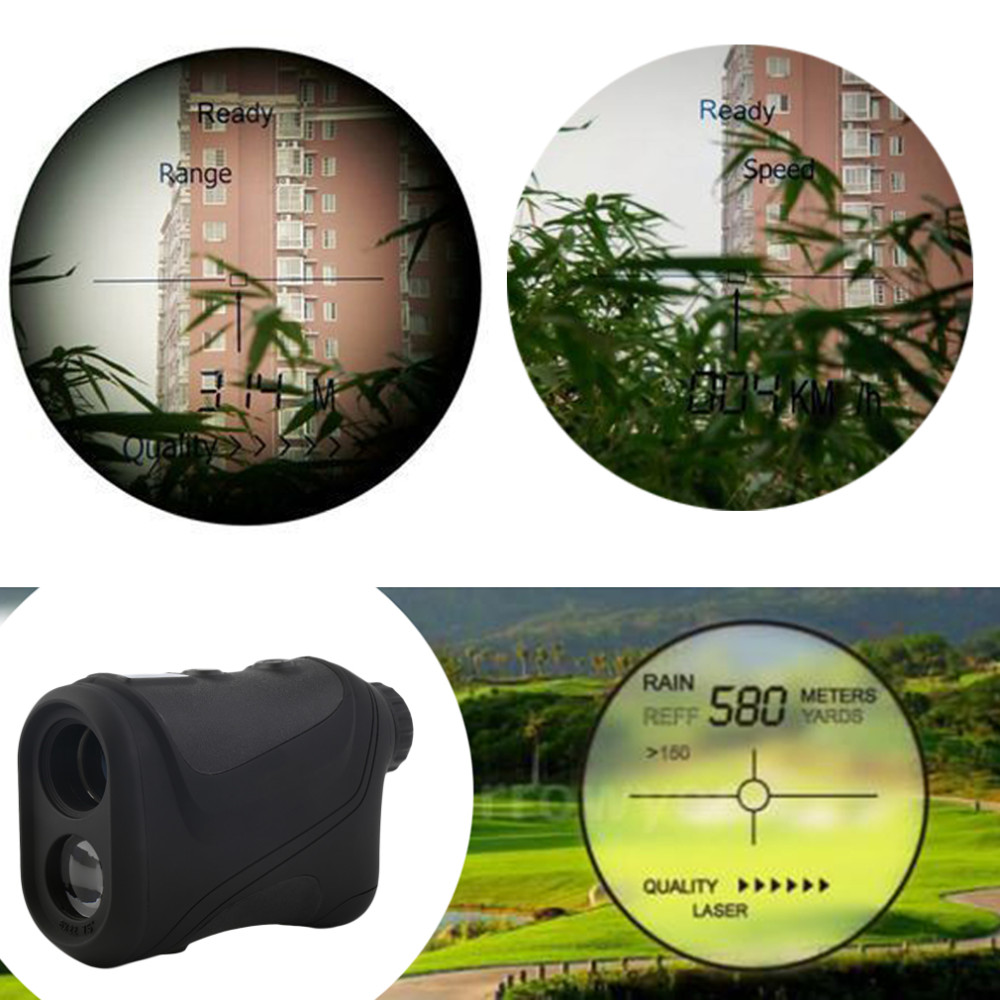 2016 NEW Arrival 6x22mm Multifunction Laser Vary Finder Telescope 600m Searching Golf Distance Model New