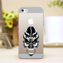 pz0024-4-25 skulls and CrossBones tattoo hollow out Design cellphone cases For iphone 4 5 5c 5s 6 6plus Hard Shell Case Cover