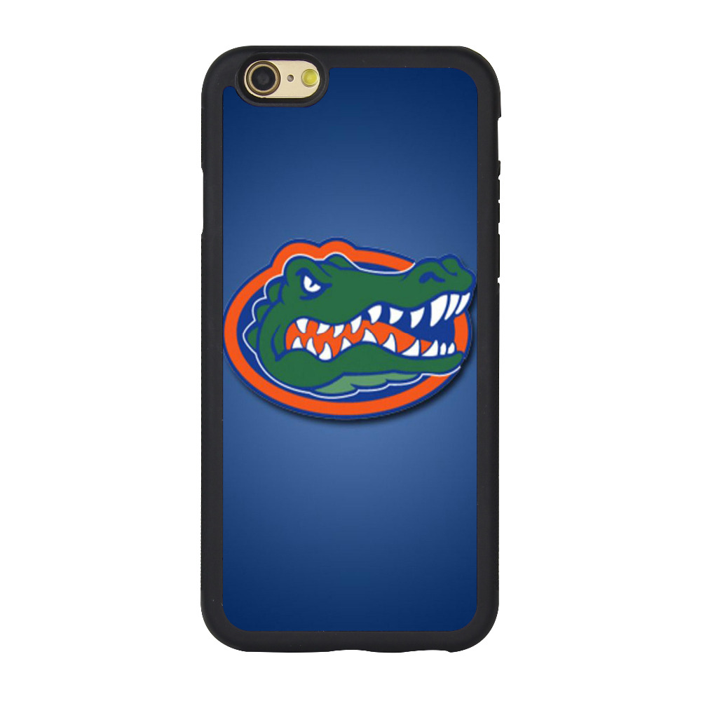 Florida Gators pattern Case for iPhone 6/6S 4.7inch,2D TPU Rubber Soft DIY Cover,free &drop shipping worldwide(China (Mainland))