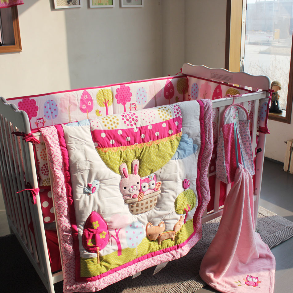 Hot Air Balloon Baby Bedding Sets