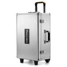 Best Deal Realacc All Aluminum Trolley Case Pull Rod Hand Box Tool Box Aluminum Box Case For DJI Phantom 4 RC Quadcopter Part(China (Mainland))