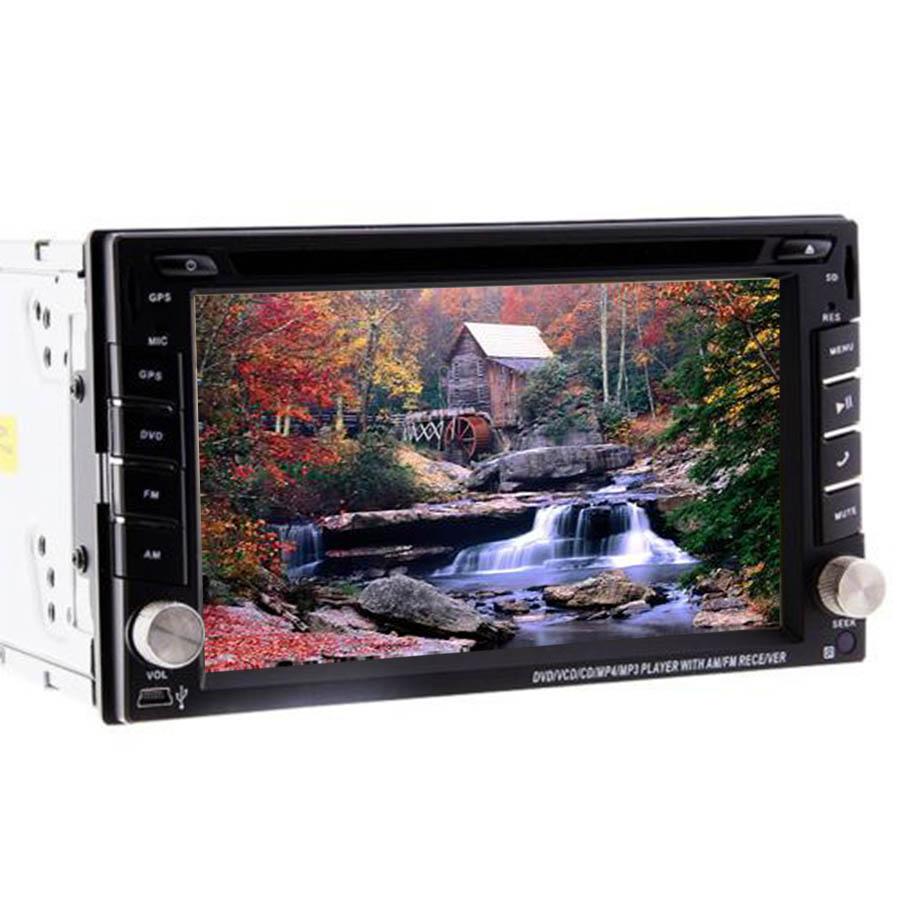"Wireless Free Camera 2 Din Car Stereo GPS Navigation Car Radio Monitor Car DVD Player Headunit 6.2"" HD Touch Screen In Dash IPod(China (Mainland))"