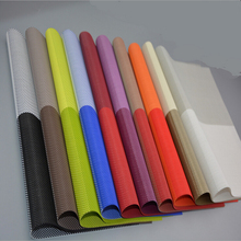 4 Pieces 10 Color 30*45cm Colorful Chequer Waterproof PVC Placemat For Dining Room and Bar Table Mat