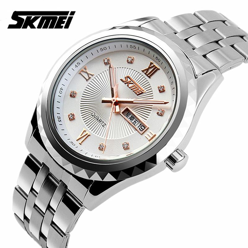 Watches men Skmei luxury brand quartz wristwatch casual Business reloj hombre dive 30m sport Clock relogio masculino 9100