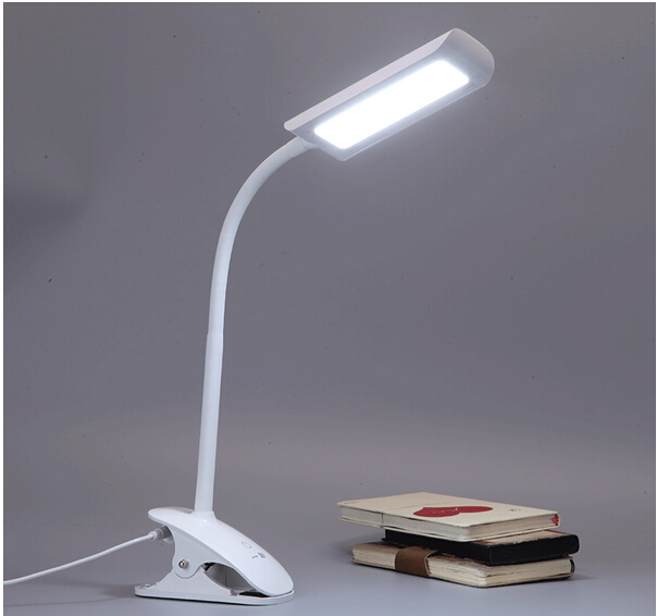 Hanging Reading Light: 100%quality Eye Protected Clip Holder Hanging Led 7w Book