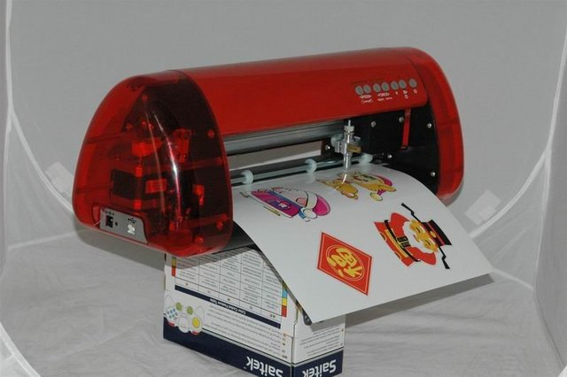 USB port red dot positioning A3 vinyl cutting plotter with CE certificate/A3 infrared cutter plotter