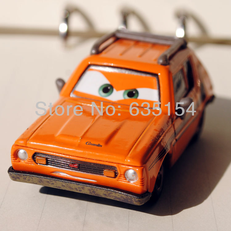 Brand New Original 1/55 Scale Pixar Cars 2 Toys Professor Z's Men Grem Diecast Metal Car Toy For Children Loose In Stock(China (Mainland))
