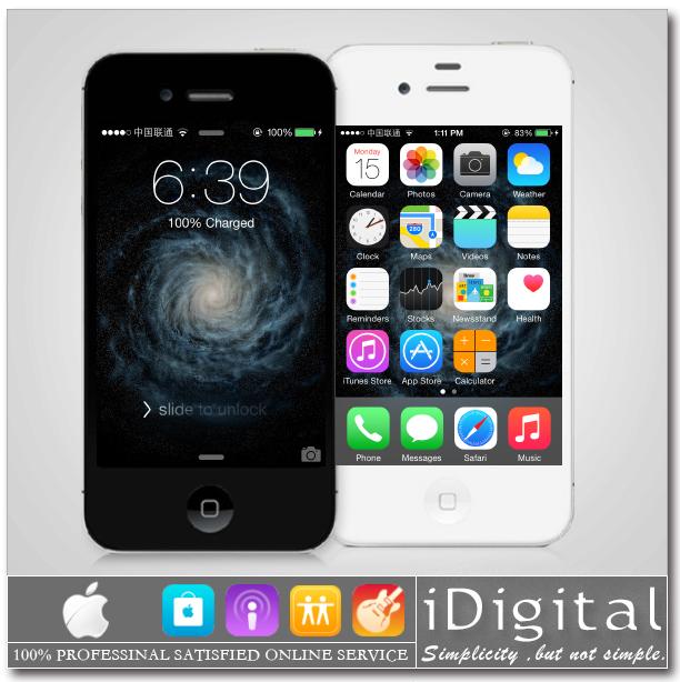 "Original Apple iPhone 4S 8GB/16GB/32GB/64GB Unlocked IOS 8 Dual-core 3G WIFI GPS 8MP 1080P 3.5""IPS Unlocked Smart Mobile Phone(China (Mainland))"