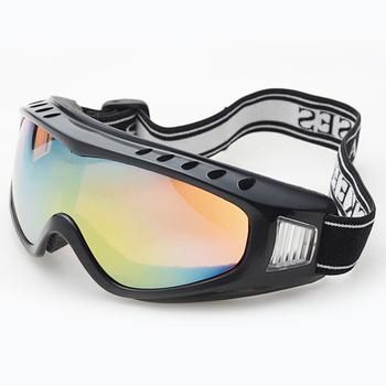 2015 новый открытый ветрозащитные очки лыжные очки пылезащитной снег очки мужчины мотокросс борьбы с беспорядками очки горные бесплатная доставка