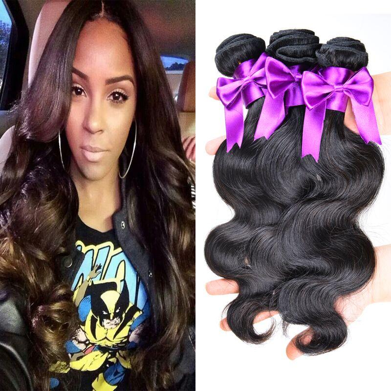 Melhor venda peruano virgem onda do corpo do cabelo 10A barato onda corpo cabelo peruano 3 Pcs lote frete grátis aceitar Paypal venda on line(China (Mainland))