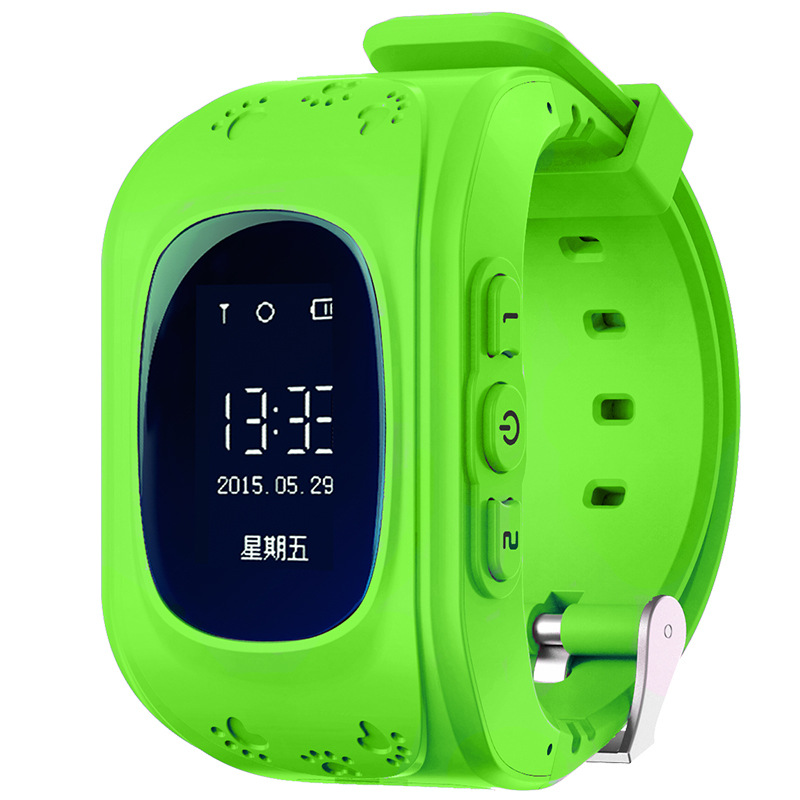 Q50 Kid GPS Watch Anti Lost Smart Watch With OLED Screen Child GPS Loc