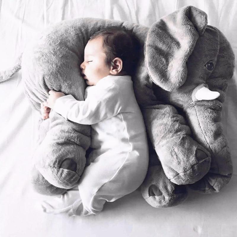 Locely Soft Baby Sleep Plush Animals Long Nose Elephant Doll Cute Plush Stuff Toys Portable Stuffed Toys Warm Gift For Baby Kids(China (Mainland))