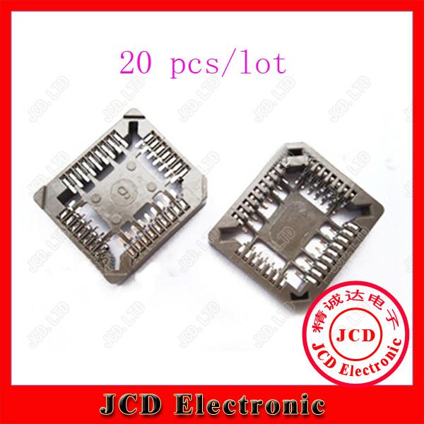 все цены на  Различные разъемы и Клеммы Jcd 20 PLCC32 32Pin SMD PLCC BI_023  онлайн