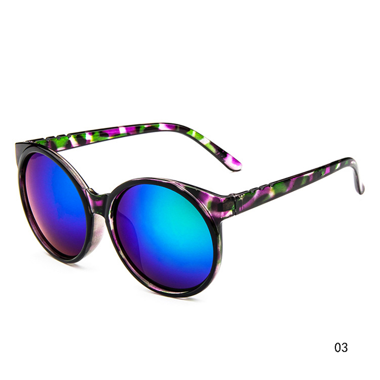 Summer Style Retro Fashionable And Charming Woman Round Shaped Polarized Sunglasses 11 Colors For Sales GS