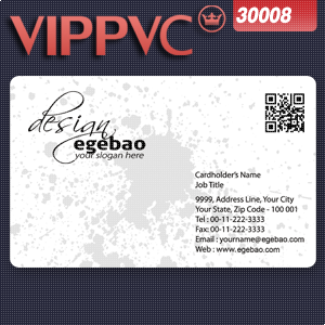 One faced Pvc transparent      business card template a3008  for Clear name card 0.38mm 200pcs<br><br>Aliexpress