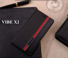 Buy Luxury Book Stand PU Leather Lenovo VIBE X2 Case lenovo vibe x2 Phone Back Cover Card Slots Wallet Holder feel for $2.95 in AliExpress store