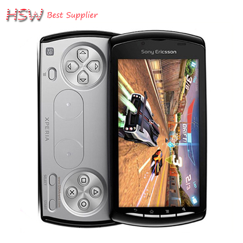 Original sony ericsson R800i Xperia PLAY R800 Zli Android Game Mobile Phone 3G 4.0 Inch GPS WIFI 5MP Free Shipping Refurbished(China (Mainland))
