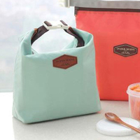 2pcs/lot Free Shipping Outdoor Picnic Insulated Lunch Bag Box Container Cooler Thermal Waterproof Tote
