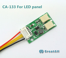 CA-133 9.6V output  LED constant current board down-voltage  double lamp LED universal inverter for led panel(China (Mainland))