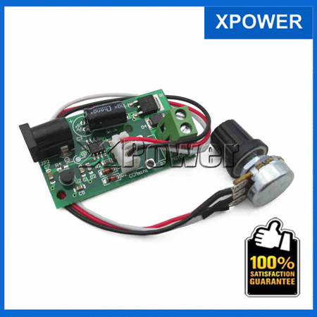 Free shipping 24V 12V 6V Speed Control Controller Speed Control Board CCMmini PWM 3A 80W DC Motor Speed Controller(China (Mainland))