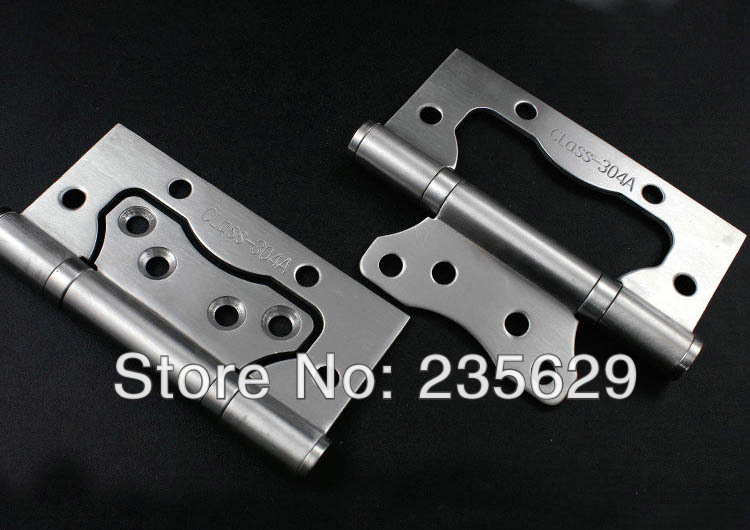 Free Shipping,sub-mother hinge,4inch*3inch*2.5mm Hinges, 304 brushed stainless steel Hinges for timber Door, no noise, long life<br><br>Aliexpress