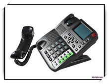 Hot sell -internet Phone / VoIP Telephone / IP PHONE with PoE and support 4 SIPs account