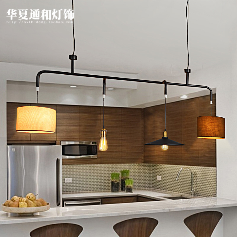 North European style retro lamps billiard rural creative personality restaurant industry wind free combination Chandelier(China (Mainland))