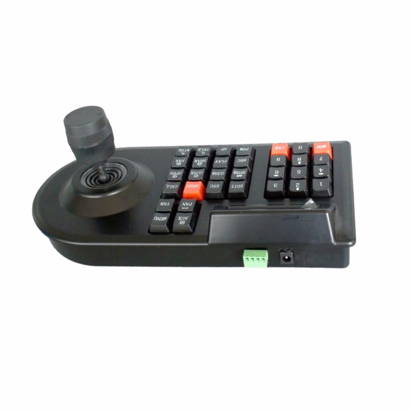max 64 set CCTV Analog  network Camera DVR PTZ 3D  handle joystick RS485  speed Dome Camera Controller Keyboard