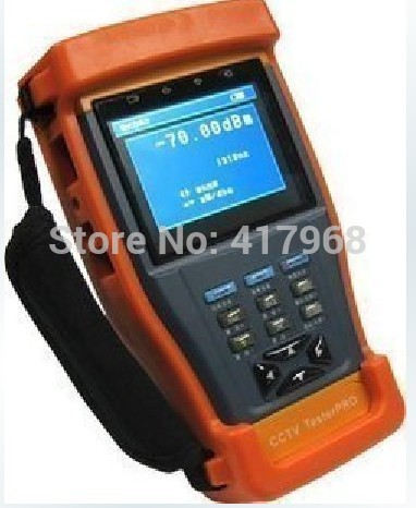 """ST893 Newest 3.5"""" LCD Monitor CCTV Camera Test monitor Video Tester(China (Mainland))"""