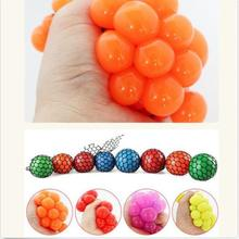 5pcs/lot 5cm Vent Grape Ball Toy Funny Goods Decompression Tricky Toys Squeeze Ball Halloween April Fools' Day Gifts(China (Mainland))