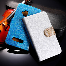 Buy PU Leather Flip Case Bling Diamond Phone Case Cover Nokia Lumia 610 N610 3.7 inch Wallet Phone Case Glitter Holster Housing for $2.92 in AliExpress store