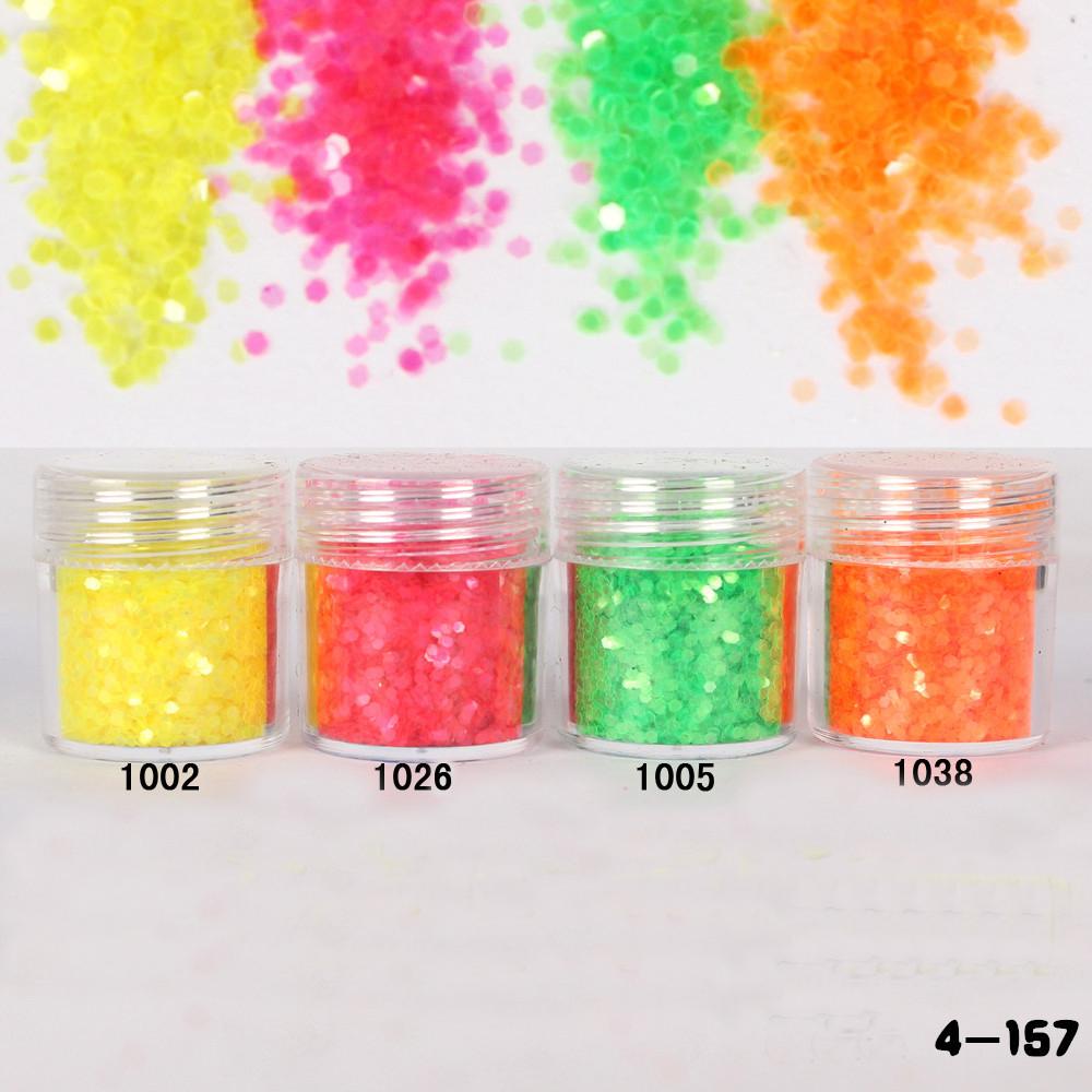 1Box Iridescent Glitter Flakes Nail Glitter Sequins Powder Acrylic Powder Sheets Nail Dust Tips Nail Art Decoration 10ML(China (Mainland))