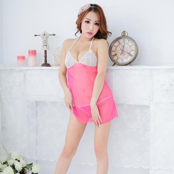 Wholesales Womens Sexy Lingerie Lace Dress Underwear Babydoll Sleepwear+G-string FreeShippingОдежда и ак�е��уары<br><br><br>Aliexpress