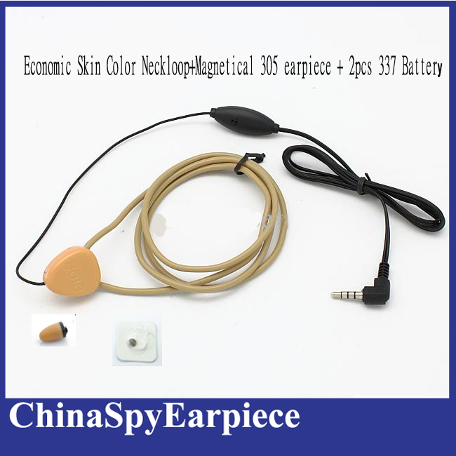 Invisible hidden spy earphone Micro Wireless earpiece with inductive Neckloop(China (Mainland))