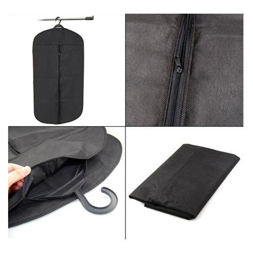 COFA Black Travel Suit Wedding Cover Skirt Dress Garment Coat Shirt Bag Carrier(China (Mainland))