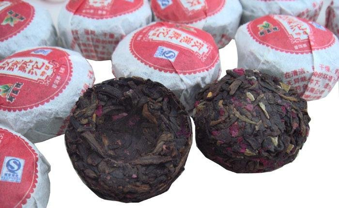 42pcs Yunnan Rose puerh tea, Puer tuo cha ,A3PT11, Free Shipping<br><br>Aliexpress