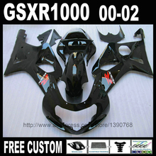 Buy Bodywork fairings set for SUZUKI 2000 2001 2002 all glossy black fairing body kit K2 GSXR 1000 00 01 02 YH61 for $320.16 in AliExpress store