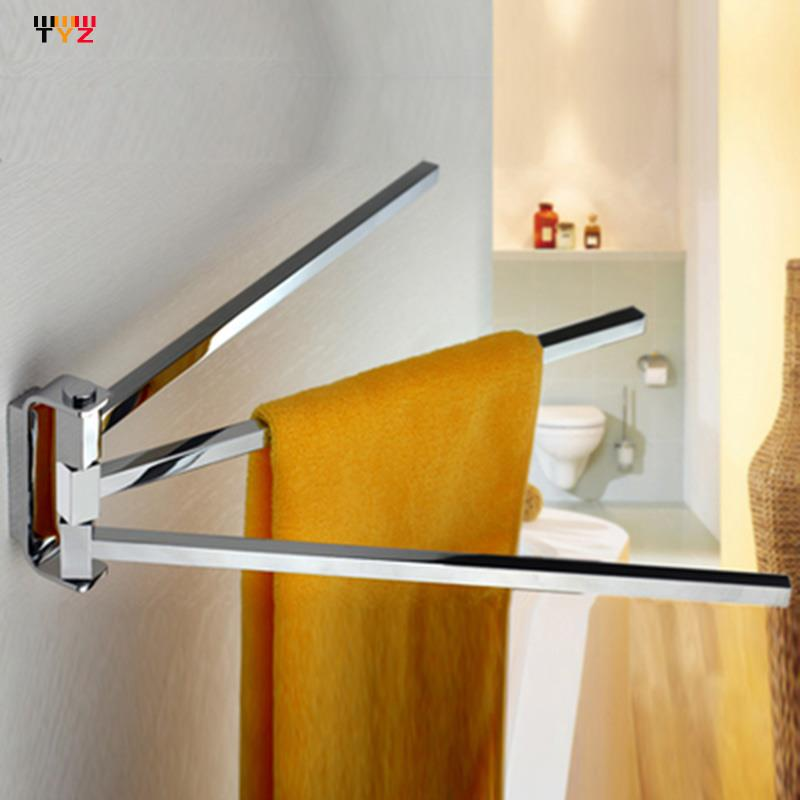 2015 Promotion Limited Cups Hanging Hooks for Towels Bathroom Bathroom Set Square Activities Double Pole Bath Towel Shelves Bars(China (Mainland))