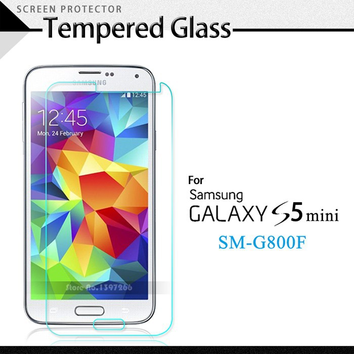 2.5D 0.26mm Ultra-thin Tempered Glass Round Border Screen Protective Film For Samsung Galaxy S5 mini<br><br>Aliexpress