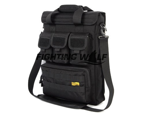 """2 Colors Best Seller Mens Outdoor Sports Pouch Waist Pouch Backpack LooYoo A119 1050D 17"""" Laptop Handbag/Shoulder Bag Black/Tan(China (Mainland))"""