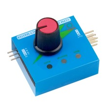 New Multi Servo Tester 3CH ECS Consistency Speed Controler Power Channels CCPM Meter Hot Selling(China (Mainland))